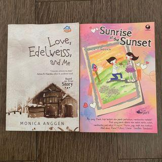 25RB DPT 2 - ceritanya nyambung. Love edelweiss and me & Sunrise at the Sunset by Monica Anggen