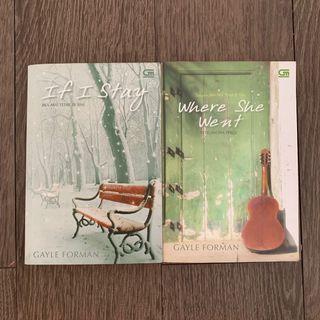 25RB DPT 2 - Novel If I Stay dan Where She Went