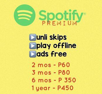netflix and spotify premium account | Music & Media