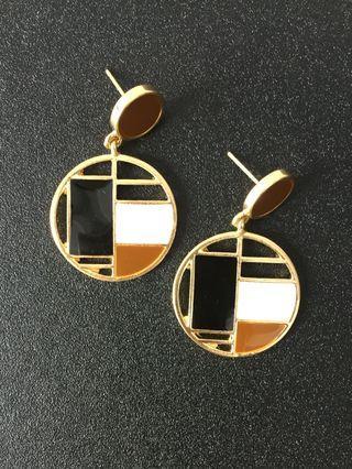 Korean Earrings anting lucu