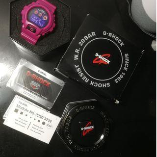 G-Shock Pink Watch