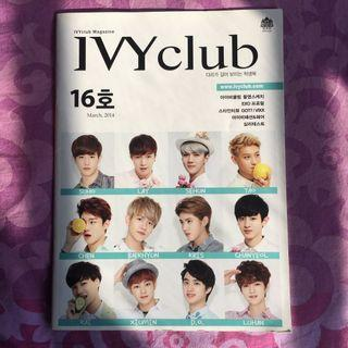 Official EXO IVY Club magazine 16th edition