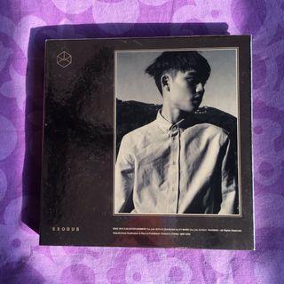 Official Exo Exodus Album D.O. Cover (Gold ver) Korean ver