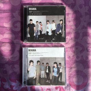 EXO Mama China press album (jewel case) K & M version