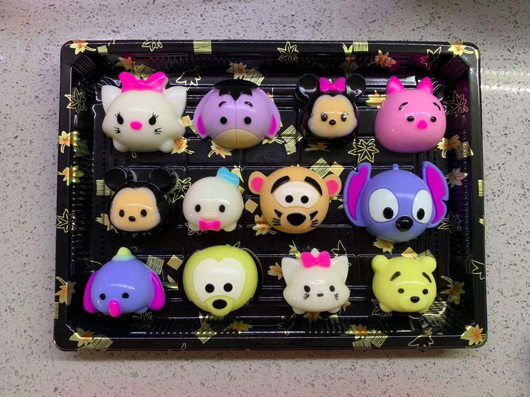 12pcs Of Tsum Tsum Jelly Bite Tray 12粒装Tsum Tsum燕菜, Food