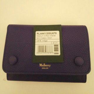 Mulberry medium Clifton 皮夾