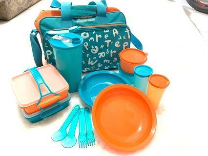 Tupperware travel set