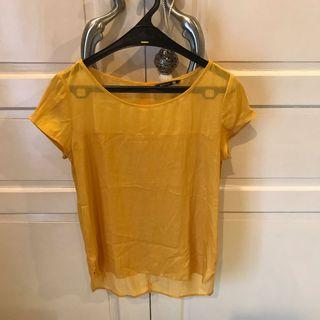 Stradivarius Yellow Top