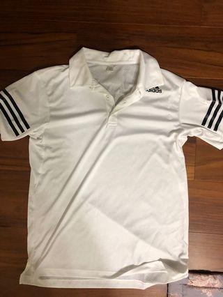 Adidas  polo衫
