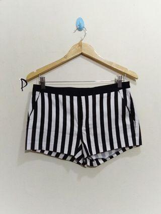 Forever21, stripe hotpants