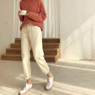 INSTOCK ♡ light khaki beige jeans