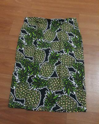 Pineapple skirt hnm