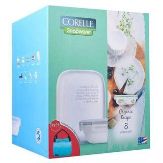 NEW Corelle snapware serving and storage set