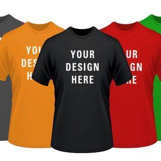 Custom T-Shirt (Class Tee, Camp Tee, CCA tee, Club Tee, you name it!)