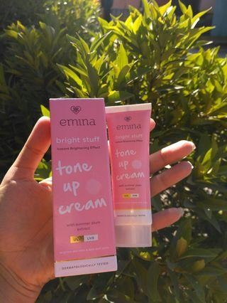 Emina tone up cream