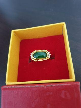 Natural Jadeite (Type A) 天然翡翠 (A貨) 古老青