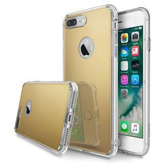 iPhone 7/8 plus fusion mirror case Royal gold
