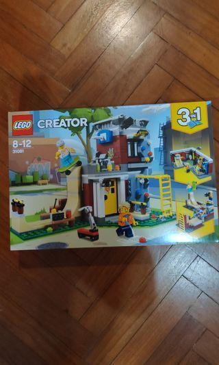 Lego 31081 Creator 3-in-1 set Modular Skate House