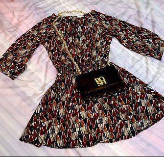 幾何圖形洋裝