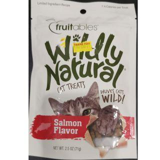 Wildly Natural® Salmon Cat Treats - 71g Made in USA