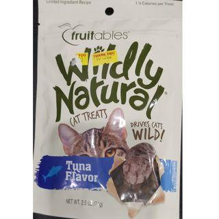 Wildly Natural® Tuna Cat Treats - 71g Made in USA