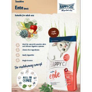 Happy Cat Sensitive Dry Food -1.4Kg ( Buy 2 bags FOC 1 Bag )