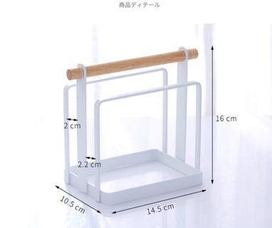 日式雙層砧板收納架/cutting board rack