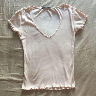 Forever 21 糖果粉色t shirt