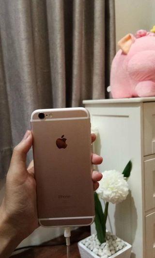 Rosegold iPhone 6s 16gb muraaahhh