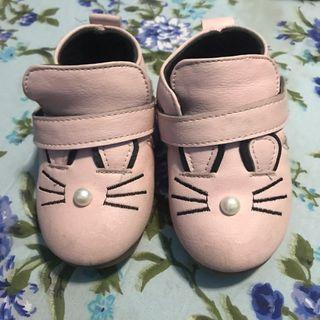 Sepatu bayi prewalker baby pink