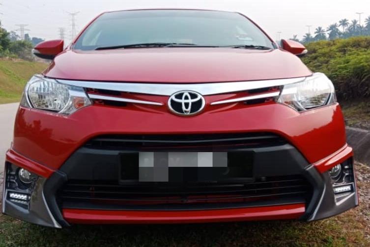 2017 Toyota VIOS 1.5 E FACELIFT (A) B/L Loan Kedai Dp 5k