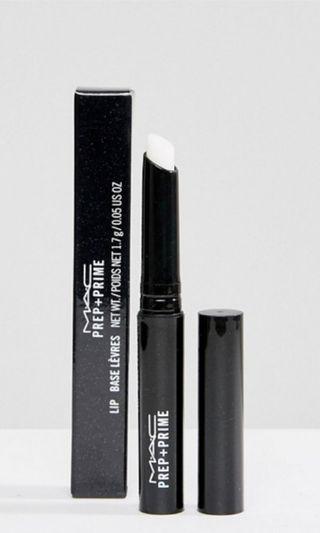 mac 妝前唇霜 pre + prime lip