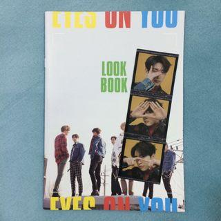 GOT7 Eyes On You Look Book Jinyoung Sticker