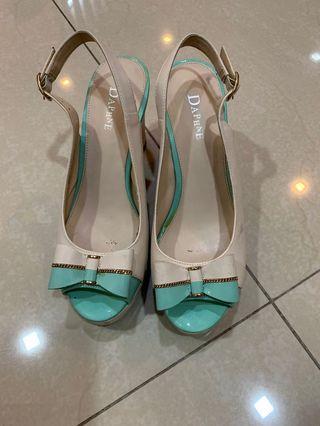 Daphne Wedges high heels