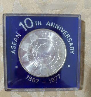 Asean 10th anniversary coin