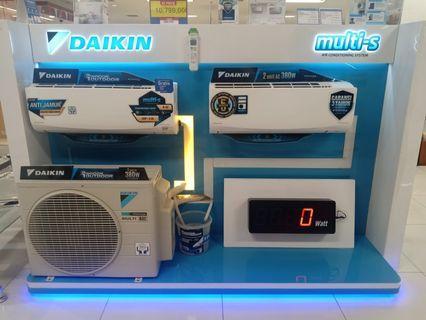 Cicil AC Daikin Multi-S 2 Indoor 1 Outdoor Promo Gratis 1x Angsuran