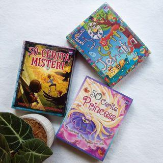Buku Dongeng Berilustrasi Warna