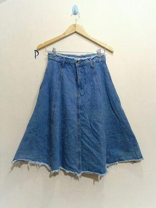 Falmer heritage,  Jeans Skirt