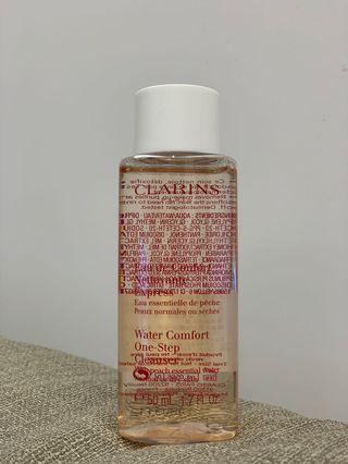 專櫃正貨效期最新👍克蘭詩 水蜜桃潔顏水 50ml 接睫毛必備溫和卸睫毛