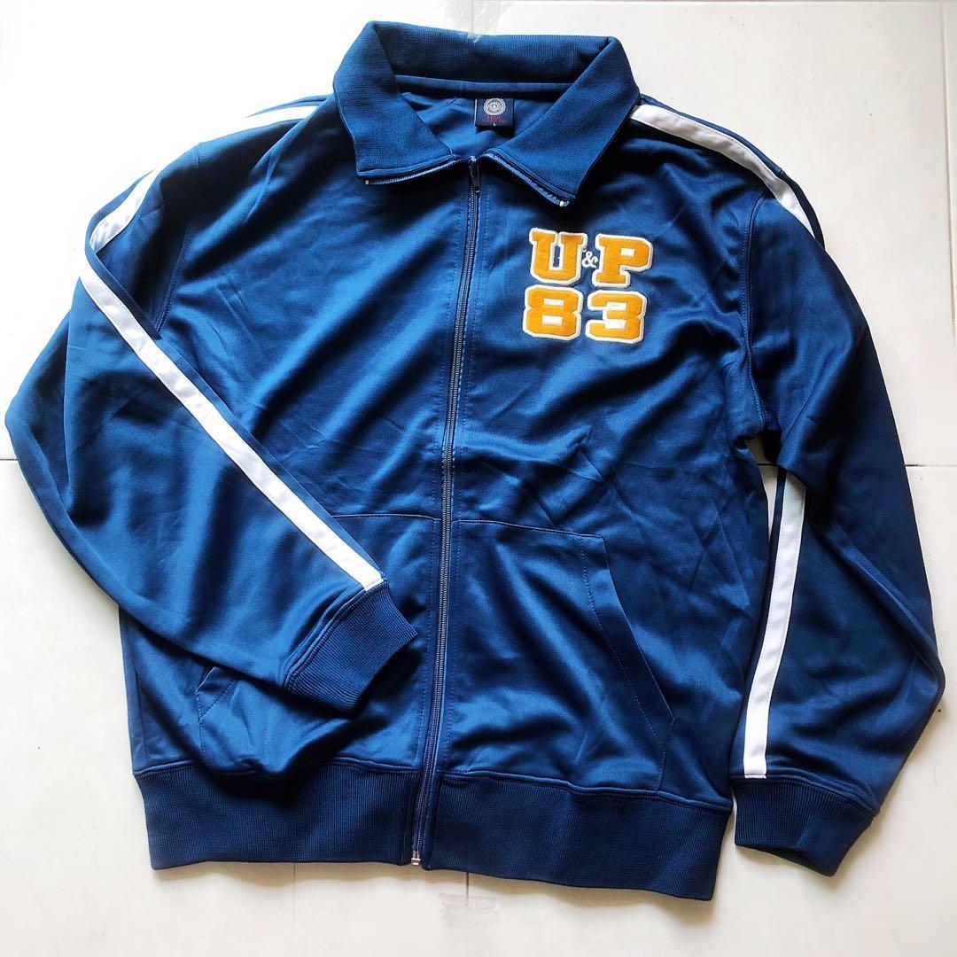 藍色運動外套