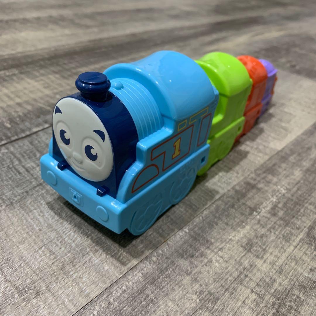湯瑪士小火車 疊疊積木