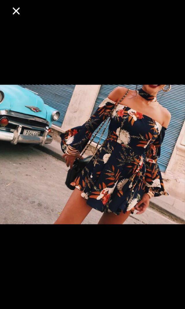 波西米亞裙 summer dress 民族