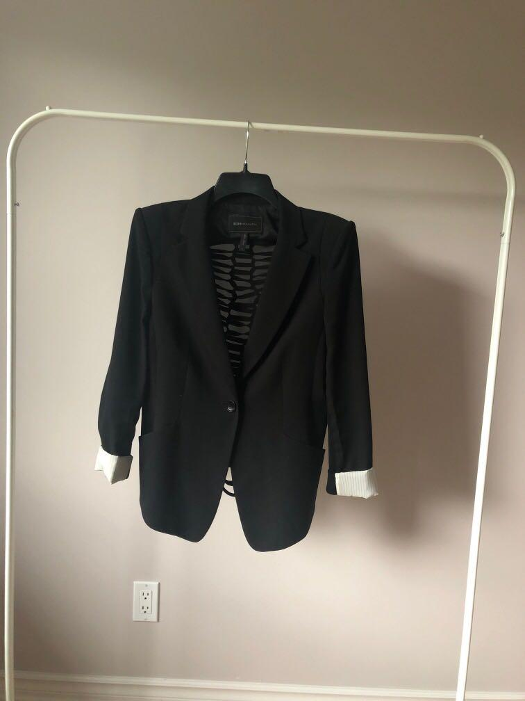 BCBGMAXAZRIA black blazer. Size M. Excellent condition