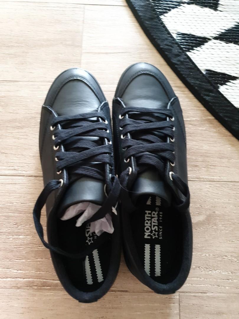 BN North Star Bata black sneaker for