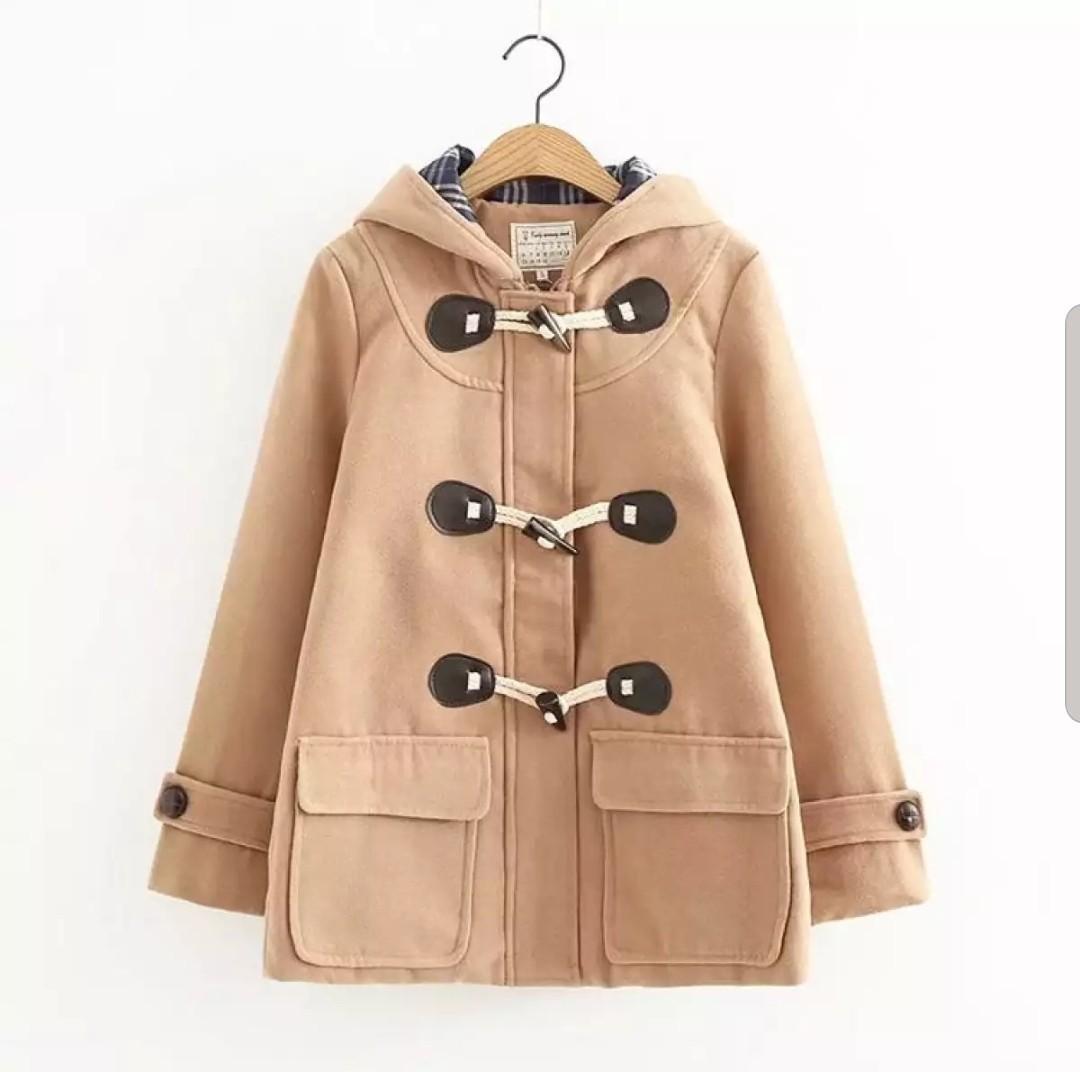 BNIP Korean / Japanese styled Schoolgirl Paddington Winter Coat / trench coat