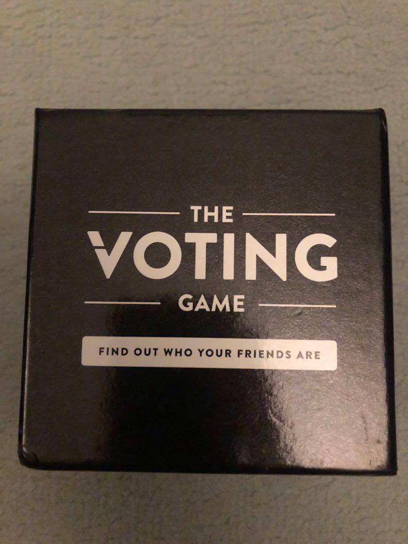 Board games / Card Games / The Voting Game