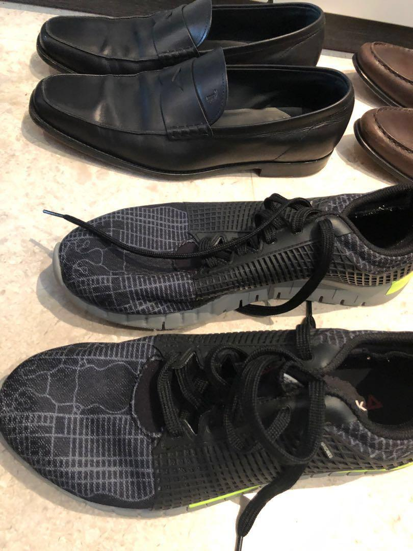 Bundle 1: 6 shoes (Tod's,Cole Haan, Bass) size 9, 10