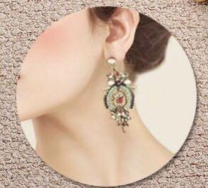 classic ethnic earring