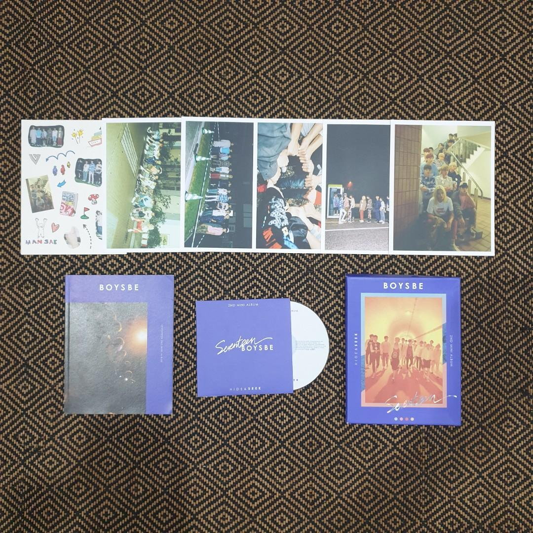 🎈CLEARANCE SALE price list [Seventeen Preloved Official Albums]