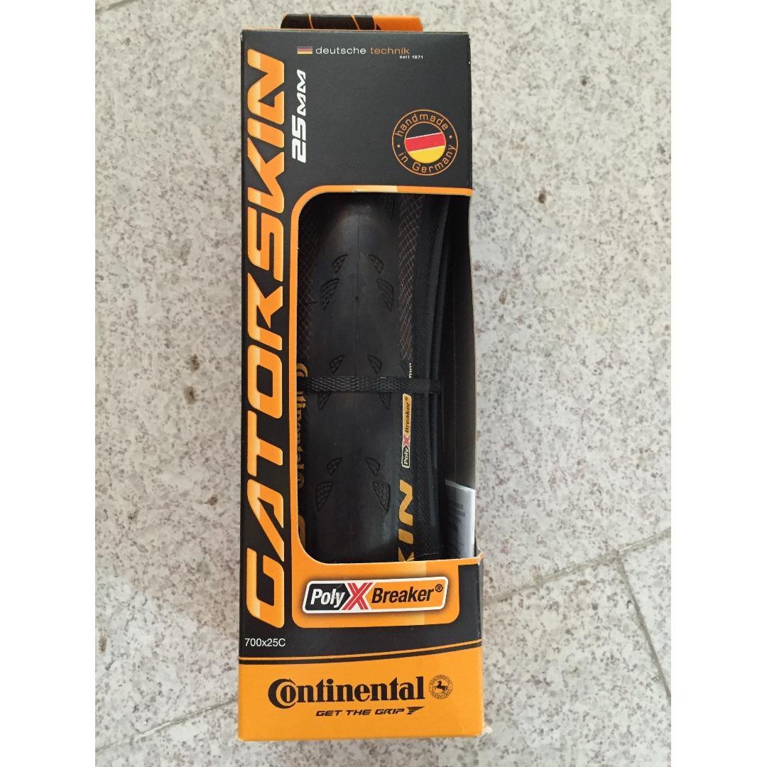 Pair Continental Tire Competition Vectran Breaker Tubular 700x25 LightWeight